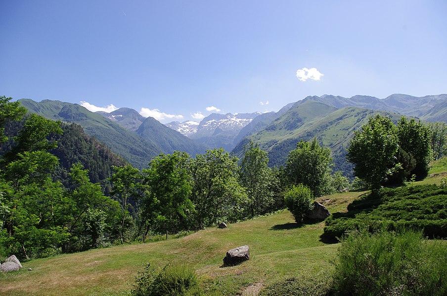 Pireneje, Garin (Haute-Garonne), Francja.