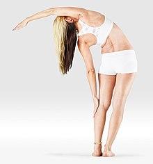 220px Mr yoga one arm side bend yoga asanas Liste des exercices et position à pratiquer