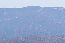 Mt Stakes viewed from Mt Hamilton, Aug 2019.jpg