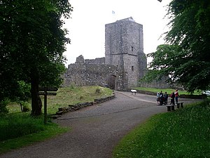 Clan Graham - Mugdock Castle was the clan's stronghold