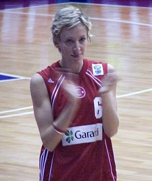 Müjde Yüksel - Image: Mujde Eurobasket