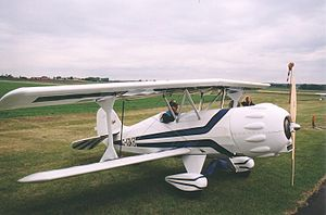 Biplane - Renegade Spirit with Rotax 618 engine.