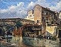 Musée du Vieux Toulouse - Le pont de Tounis et les lavandières - XIXe - Inv36 16 1.jpg