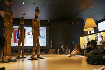 Musée du quai Branly, conférence d'Ismaël Moya 02.jpg