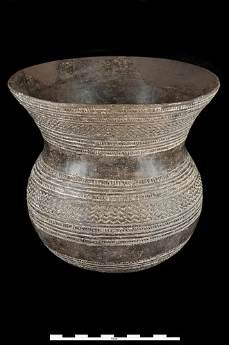 Beaker culture - Vessel from Ciempozuelos, beginning of the second millennium BCE (National Archaeological Museum of Spain, Madrid)