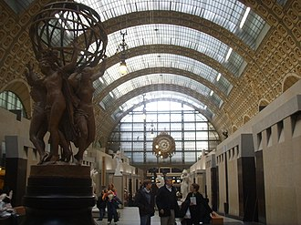 Victor Laloux - interior, Gare d'Orsay, now the Musée d'Orsay, 1900