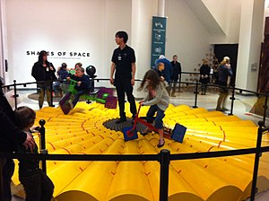 National Museum of Mathematics - Square wheeled tricycles at MoMath