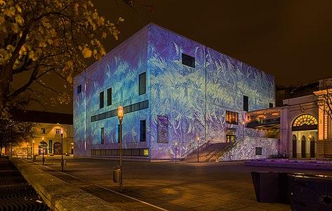 Vienna, Museumsquartier, Museum Leopold