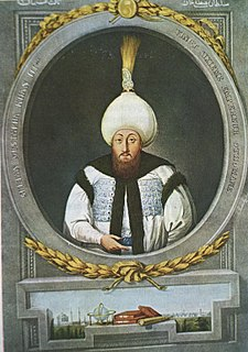 Mustafa III Sultan of the Ottoman Empire from 1757 to 1774