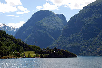 World Database on Protected Areas - Image: Nærøyfjord (6 2007)