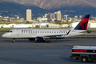 Compass Airlines (North America) - Delta Connection Embraer 175 operated by Compass at Salt Lake City