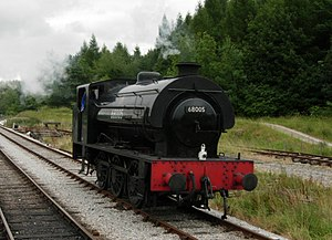Embsay and Bolton Abbey Steam Railway - No.68005 at Bolton Abbey.