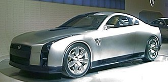 Nissan GT-R - 2001 GT-R Prototype at the 2001 Tokyo Motor Show