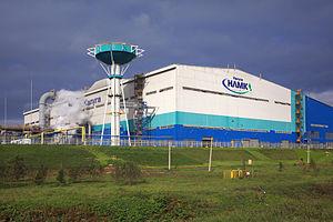 Metallurgy of Russia - NLMK plant in Vorsino, Kaluga Oblast