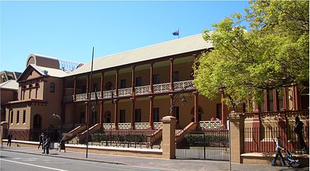 The New South Wales Parliament is Australia's oldest parliament. First elections were held in 1843. NSWParliament1.jpg