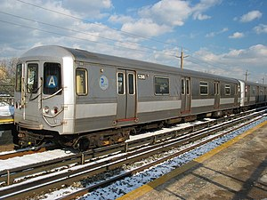 R44 stock of the New York City Subway remains ...