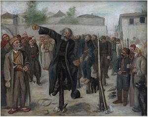Hadži-Prodan's rebellion - Impalement of rebel leaders