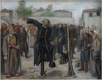 Hadži-Prodan's rebellion - Impalement of rebel leaders