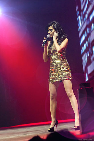 Nadia Ali (singer) - Nadia Ali performing at Armin Only in Poland