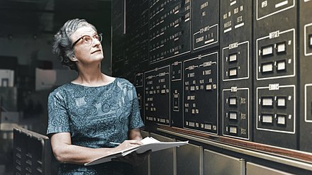 Dr. Nancy Grace Roman, NASA's first Chief of Astronomy, is shown at NASA's Goddard Space Flight Center in Greenbelt, Maryland, in approximately 1972. Nancy Roman Hubblecast.jpg