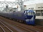 Nankai 50000 Rapit in Imamiyaebisu Station DSCN3249 20120831.JPG