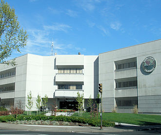 Napa, California - The Napa County Administration Building