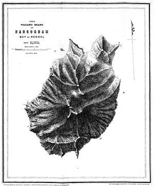 Narcondam Island - Image: Narcondam 1885
