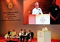 Narendra Modi addressing at the Financial Inclusion Conference of RBI, in Mumbai. The Governor of Maharashtra, Shri C. Vidyasagar Rao, the Union Minister for Finance, Corporate Affairs and Information & Broadcasting.jpg