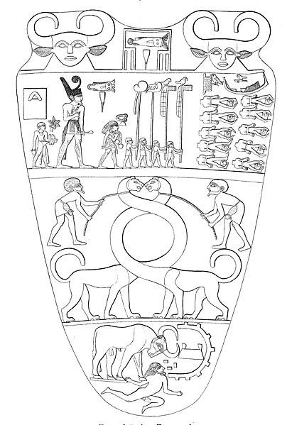 File:Narmer Palette, verso.jpg