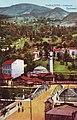 Narrow-Gauge-Railway Ostbahn Sarajevo Miljacka Bridge-Skenderija.jpg