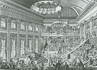 National Assembly of the Batavian Republic parliament in the (Northern) Netherlands (1796-1798)