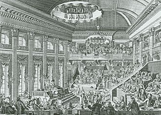 National Assembly of the Batavian Republic - Opening of the National Assembly in The Hague, 1 March 1796