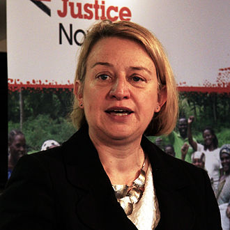 "Natalie Bennett - Bennett in ""Take Back Our World! - Global Justice Now""."