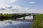 Nationaal Park De Alde Feanen. Locatie, It Wikelslân. Verbindingsbruggetje.jpg