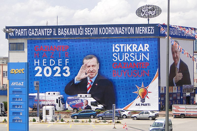 File:National Election Campaign Banner for PM Recep Tayyip Erdogan - Justice and Development Party - Gaziantep - Turkey - 01 (5772530700).jpg