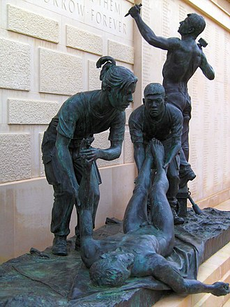 Armed Forces Memorial - Image: National Memorial Arboretum post 1945 01