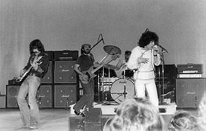 Nazareth (band) - Nazareth performing 6 March 1976