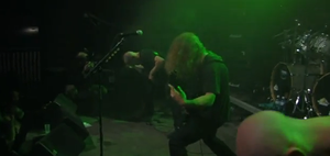 Technical death metal - The band Necrophagist performing in Germany in 2010