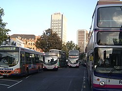 Need A Bus^ Humberstone Gate, Leicester - geograph.org.uk - 260247.jpg
