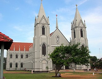Kingdom of Sitawaka - A Catholic church in Negombo. The spread of Christianity was a major factor in Sri Lankan conflicts of the 16th and 17th centuries