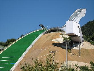 Four Hills Tournament - Image: Neue Große Olympiaschanze