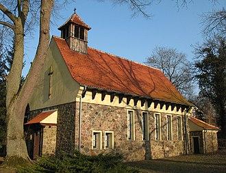 Stechlin - Image: Neuglobsow church