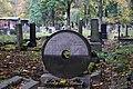 New Jewish Cemetery, matzevah (Jewish tombstone), 55 Miodowa street, Kraków, Poland.jpg