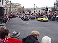 New Year Parade - Minis in Trafalgar Square - geograph.org.uk - 1103621.jpg