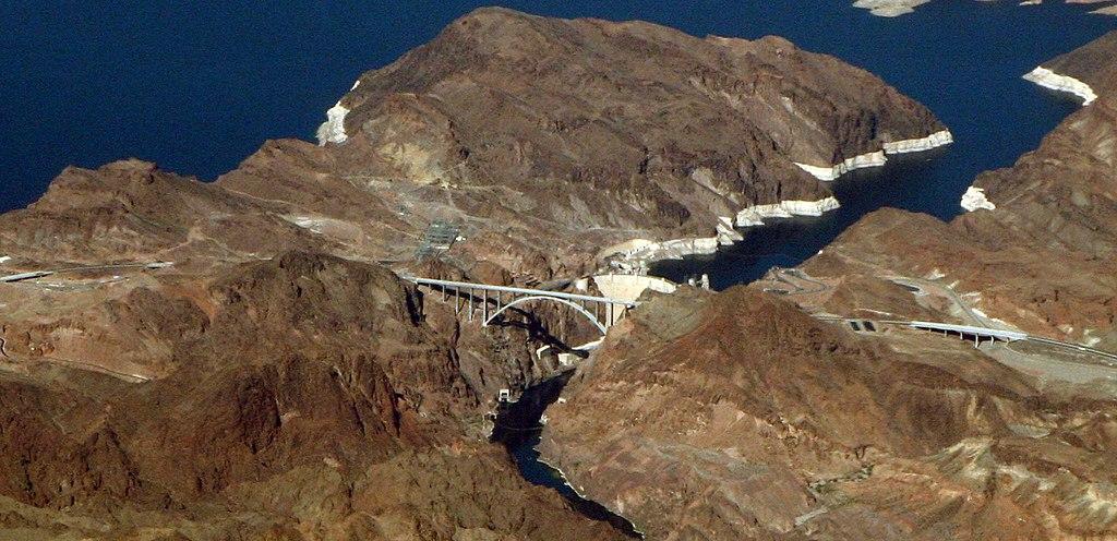 New bridge at Hoover Dam