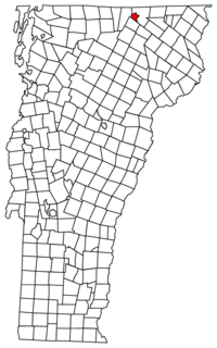 Location in Vermont