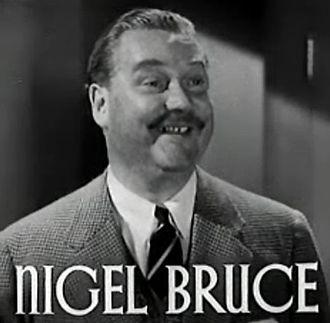 Nigel Bruce - from The Last of Mrs. Cheyney (1937)
