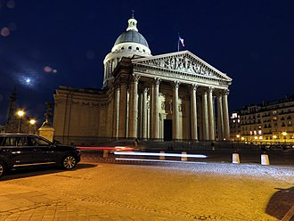 Panthéon - The Panthéon at night