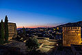 Night view from Alhambra de Granada, Andalousia Spain - Image Picture Photography (14691952077).jpg