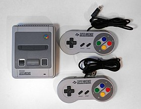 Image illustrative de l'article Super NES Mini